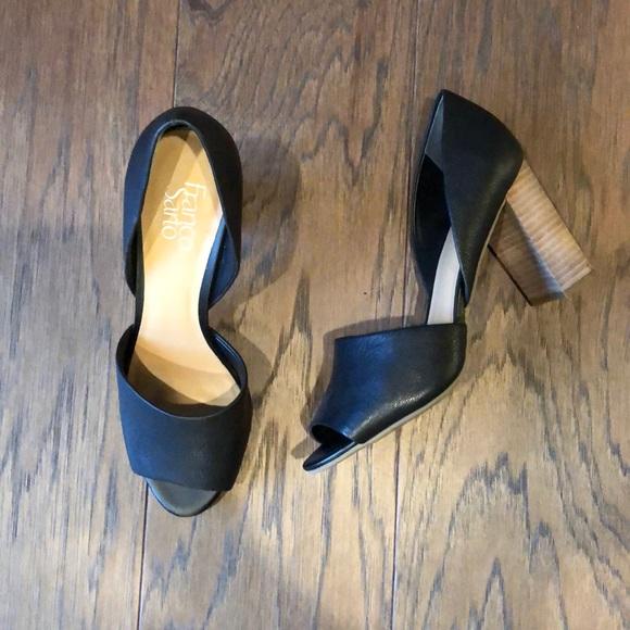 Franco Sarto Shoes - NEW Franco Sarto Open Toe Pumps, 8.5